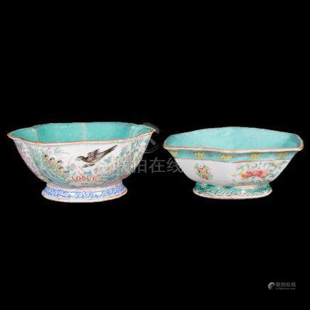 Two 19th century Chinese porcelain bowls.