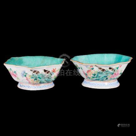 Two 19th century Chinese bowls.