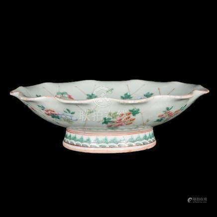 19th century Chinese celadon bowl.