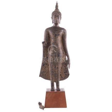 Thai bronze Buddha.