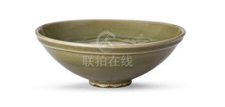 耀州窯刻花蓮花紋碗 A YAOZHOU 'LOTUS' BOWL