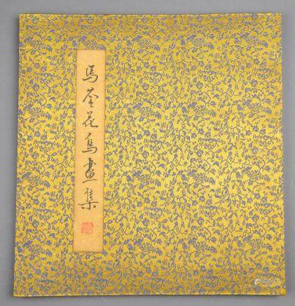 MA QUAN Qing Period Watercolour Book  (Qing)
