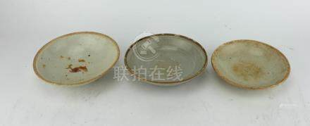 THREE SUNG DYNASTY PORCELAIN BOWLS