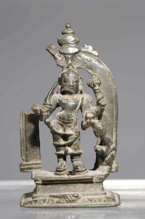 LAKSHMANbronze,India, 17th centuryH: 9 cm
