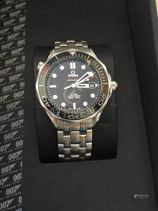 Omega James Bond 50th anniversary Seamaster