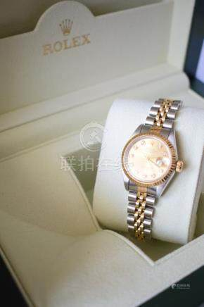 Womens Rolex Oyster Perpetual DateJust