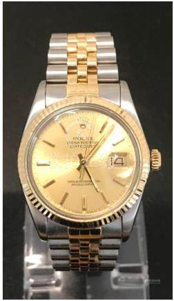 Gents Rolex Datejust 16013 Bi-Metal