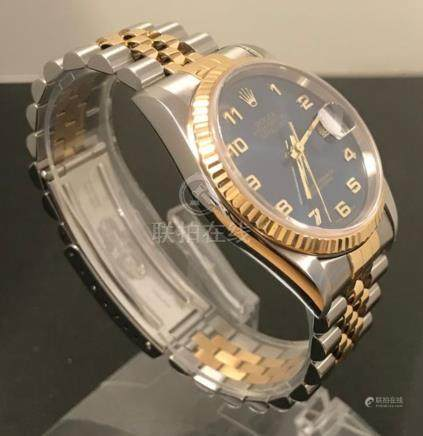 Gents Rolex Datejust 16233 18k Gold & Stainless Steel
