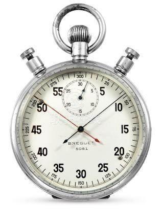 Breguet, A Nickel 30-Minute Split Second Timer