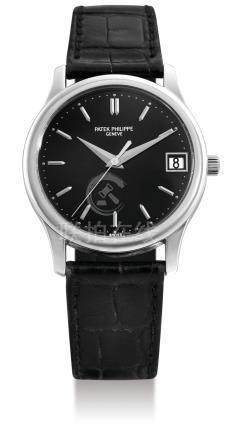 Patek Philippe 3998G-011, A Fine White Gold Automatic Wristwatch with Centre Seconds