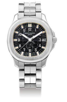 """Patek Philippe, A Stainless Steel Automatic Cushion-Form Wristwatch with Date and Bracelet, Ref. 5066A-001, """"Aquanaut"""", Mvt No. 3030789 Case No. 4106279"""