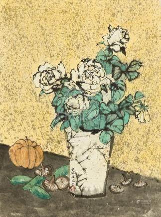 C.C. WANG (WANG JIQIAN, 1907-2003)
