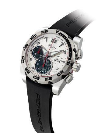 PARMIGIANI.A STAINLESS STEELAUTOMATIC CHRONOGRAPH WRISTWATCH WITH DATE