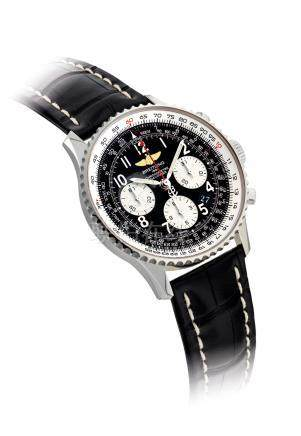 BREITLING.A STAINLESS STEELAUTOMATIC CHRONOGRAPH WRISTWATCH WITH DATE