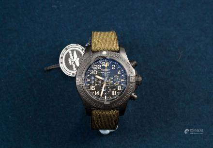 BREITLING, New Old Stock, Avenger Chronograph Military Limited Edition