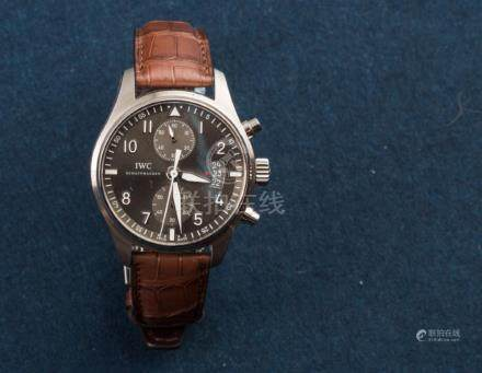 IWC,New Old Stock, Pilot Spitfire Chronograph