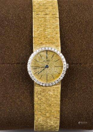 PIAGET, A Lady's 18K Gold and Diamond