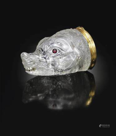 Saracchi WorkshopItalian, Milan, circa 1575Zibellino in the form of a Marten's Head,