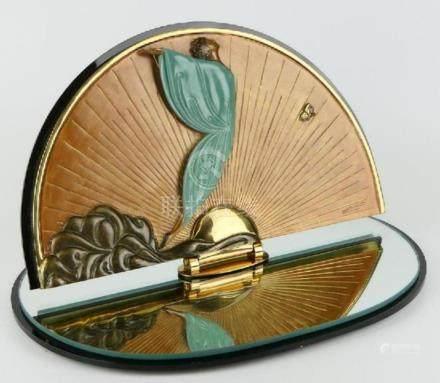 ROMAIN DE TIRTOFF (FRENCH 1892-1990) TABLE MIRROR