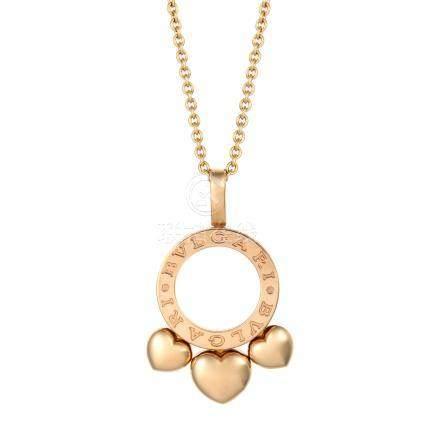 寶格麗 ALLEGRA 黃金項鍊