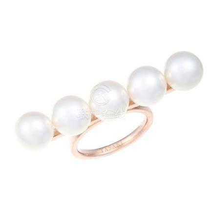 TASAKI 珍珠 黃金戒指