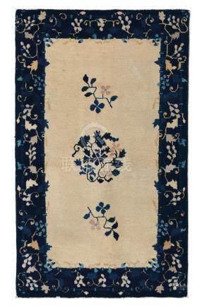 Piccolo tappeto Pechino, Cina fine XIX secolo,