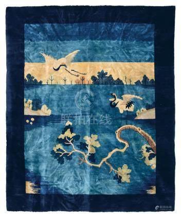 Particolare tappeto Pechino Cina, fine XIX secolo,