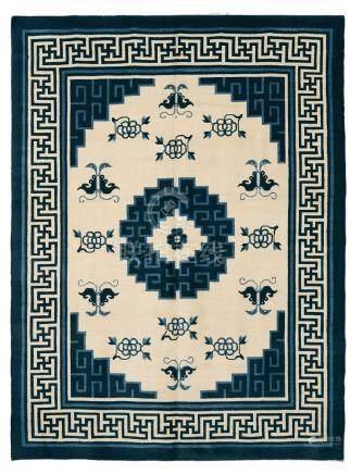 Particolare tappeto, Cina XIX secolo,