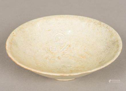 A Chinese Song porcelain bowl Of flared form, with incised d