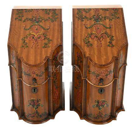 Pair of Georgian Style Knife Boxes