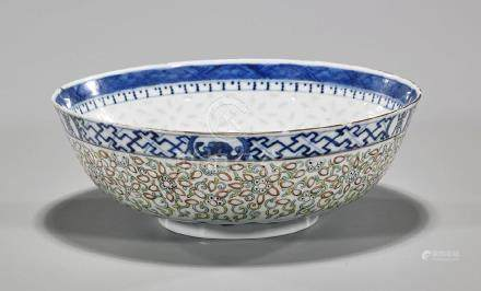 Chinese Republic Period Enameled Porcelain Bowl