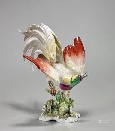 German Hutschenreuther Porcelain Bird
