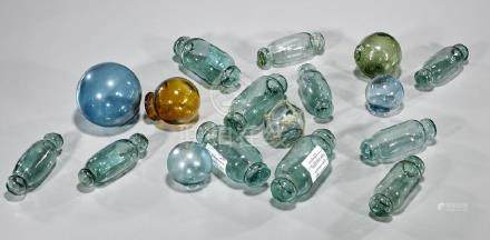 Collection of Japanese Glass Fishing Floats