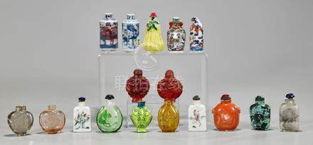 Collection of Chinese Snuff Bottles