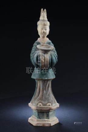 Chinese Pottery Figurine