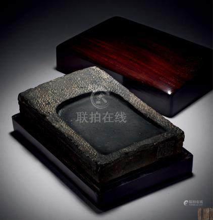 清 沈石友藏汉建宁元年正月砖砚