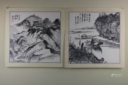 Two Chinese Painting