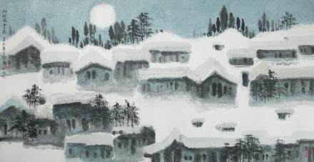 XU XI (1940~), SNOW VILLAGE