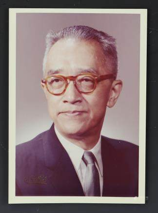 Hu Shi Photo Signed by His Daughter in Law Margaria Hu