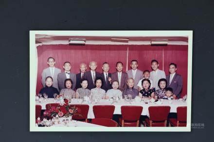 Hu Shi wife Jiang Dongxiu,Son Hu Zuwang,Margria Hu Photo