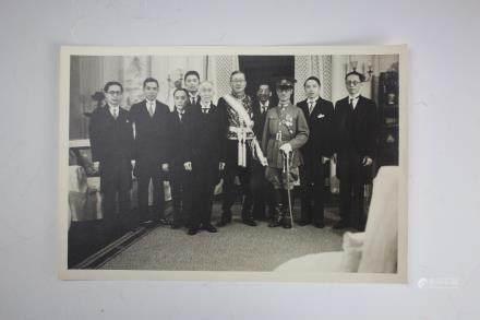 Alfred Sao-ke Sze,Founding of Chinese Embassy 1935 Photo