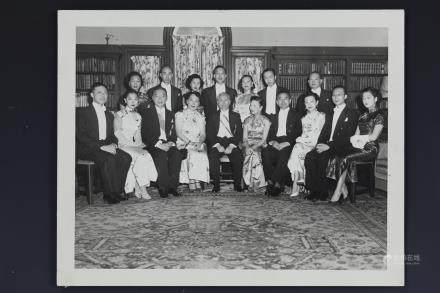 Embassader Wellington Koo and Oei Hui-lan in 1947 Photo