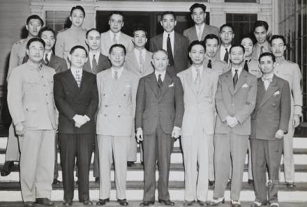 Embassader Wellington Koo Gu Weijun with Diplomat