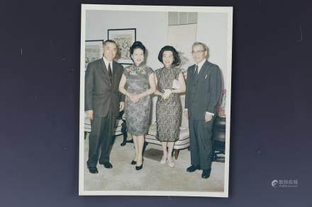 3 Photo of Ambassdor and Madame Tsiang Tingfu