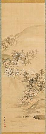 KISHI RENZAN (1805-1859).
