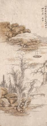 王石谷 山水图