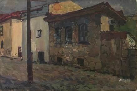 Aleksandr Vasilevich Kuprin ( Russian, 1880-1960).