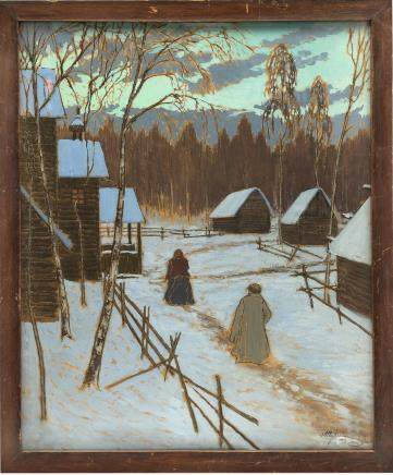 Alexander Stepanovich Pershin (Russian, 1882 - 1942).