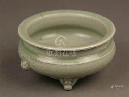 Celadon Incense Burner - Longquan, China, possibly late Ming
