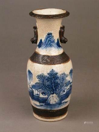 Vase - China, 2nd half of the 20th century, baluster shape w